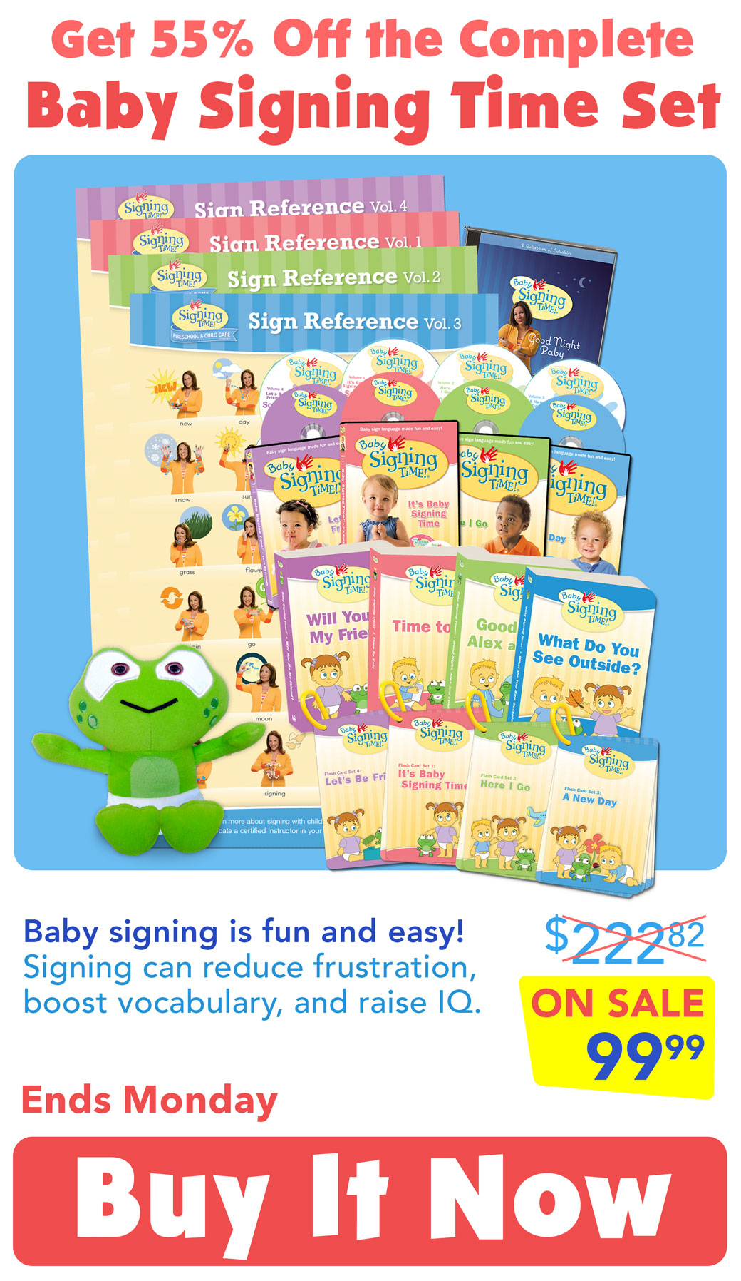Baby Signing Time Set Sale